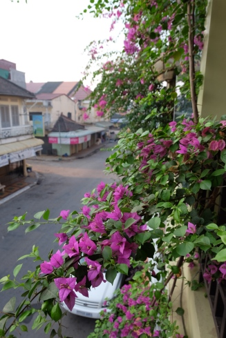 Kolonialhäuser in Battambang