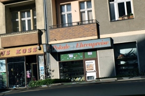 Tegler Straße, der berühmte Madenautomat