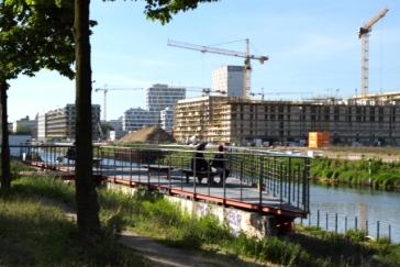 Quadratisch, praktisch teuer: Neubaugebiet hinter dem Hauptbahnhof