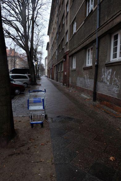 """Parkviertel oder """"Upper Wedding"""" nennt man das Viertel, in dem ich wohne. Ist nicht überall so trübe, aber manchmal schon..."""